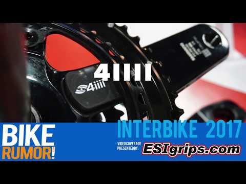 Interbike 2017 - 4iiii Precision Podiiiium power meters