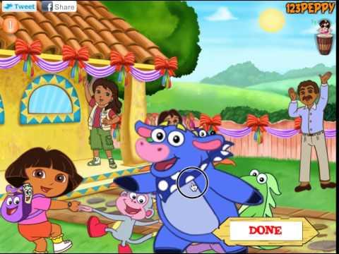 Juego Dora Party Decor