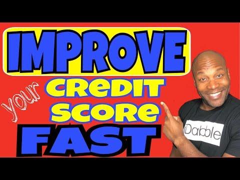 Improve Your Credit Score Fast | Increase FICO Score