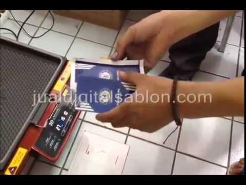 Cara Membuat Custom Casing Handphone Menggunakan Mesin Sublimasi Vakum