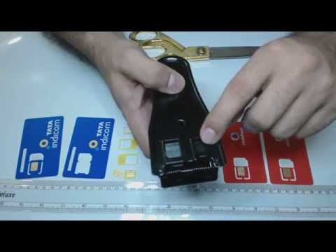 Learn how to convert nano sim back to mini & micro sim card