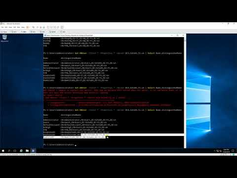 Using PowerShell - Get all Users account in forest