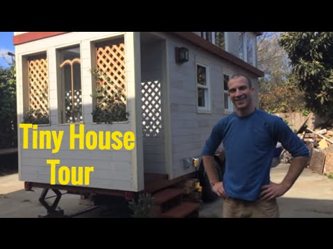 Green Home Design - Tour of Tiny House Cottage on Wheels - Oakland CA - Tiny Home on Wheels