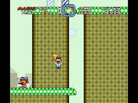 Super Mario World: Chocolate Island 3 Secret Exit