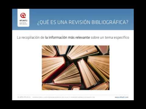 ATLAS.ti 8 Windows  - Revisión bibliográfica con ATLAS.ti
