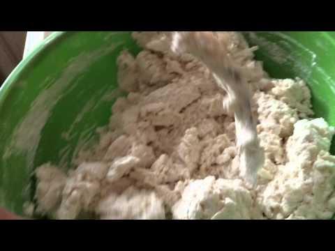Making Buttermilk Biscuits
