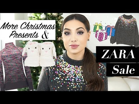 Zara Sale Haul- Best Finds & More Christmas Gifts   Pt 2