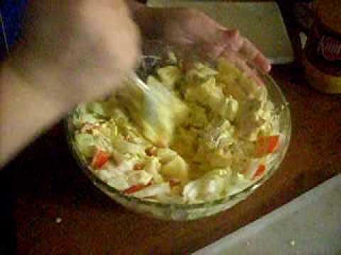 Potato salad dedicated to Nigeria and  singer Sunny Neji