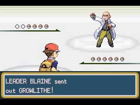 Pokemon LeafGreen - Blaine