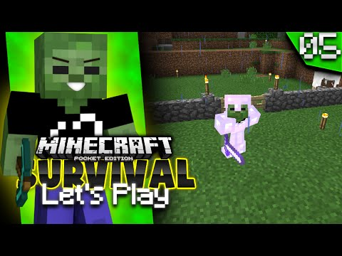 Minecraft PE Let's Play Ep. 5 - Saddle Fishing (MCPE 0.15.1 Survival)