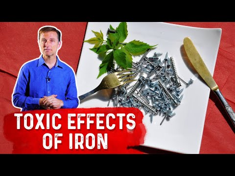 The Toxic Effects of Iron in Fortified Pasta, Bread & Cereals