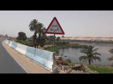 Driving from Daraw to Aswan , Upper Egypt