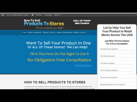 How To Sell Products To Stores - We Can Help!