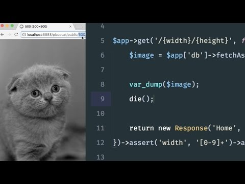 Build a Placekitten clone with Silex: Manipulating and rendering images (4/6)