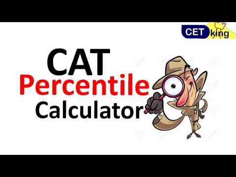 CAT 2017 percentile calculator. Check your expected %ile