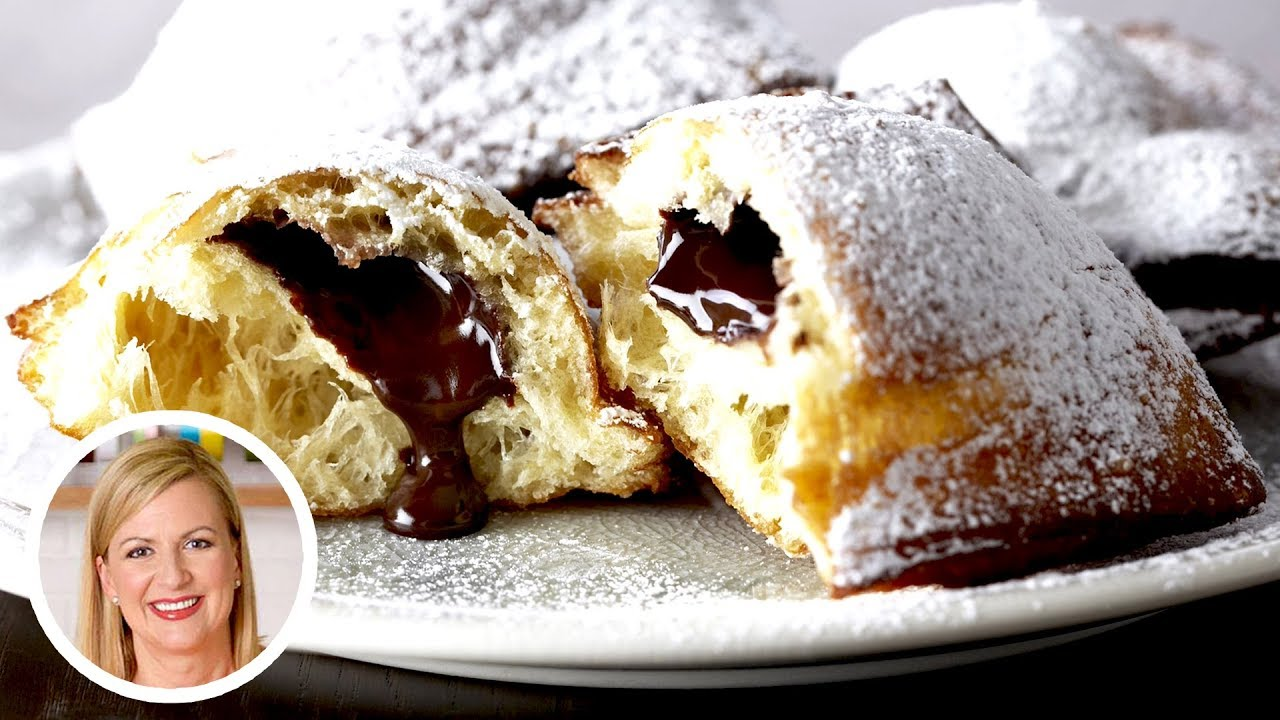 Professional Baker Teaches You How To Make BEIGNETS!