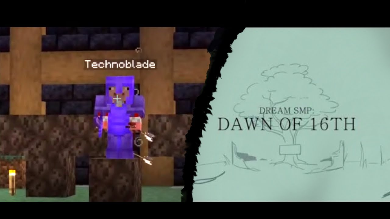 """ACTUAL SCENES from """"Dawn of 16th"""" Dream SMP Animatic"""