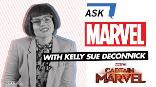 Kelly Sue DeConnick, Writer of Captain Marvel | Ask Marvel