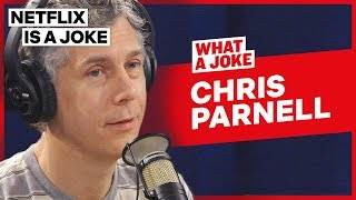 Chris Parnell's Journey From SNL To Rick & Morty | What A Joke | Netflix Is A Joke