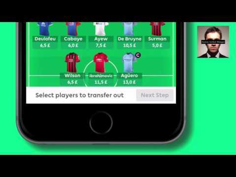 The new Fantasy Premier League app + squad update