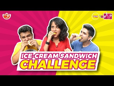 The Ice Cream Sandwich Challenge | TEAM IFN V/s FOOD At K Rustom Ice Cream