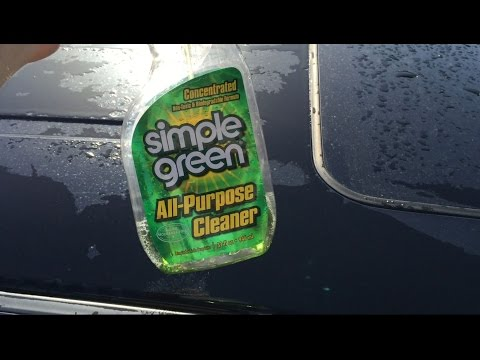How to Remove Stain and Seal From Vehicle - Simple Green