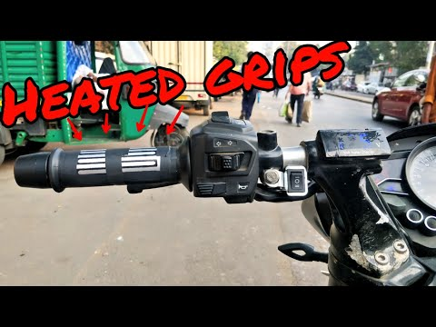 How to install Heated Grips for all motorcycles and scooters!!!