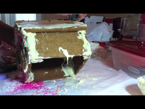 How to make a Gingerbread House Part 4