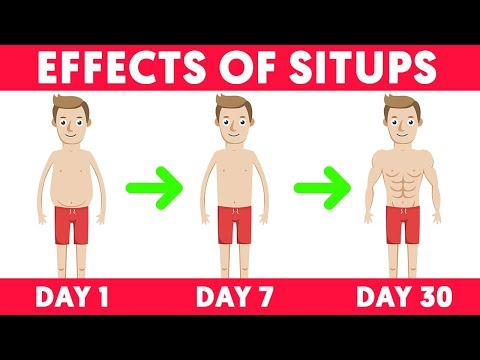 This is What Happens When You Do 10, 50 and 100 Sit-ups Every Morning