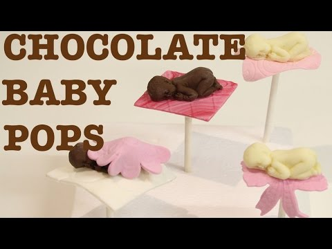 how to make CHOCOLATE BABY POPS! EASY NO BAKE TUTORIAL! | Its A Piece Of Cake