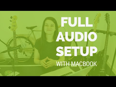 Full Audio Interface Setup with MacBook of sofasession