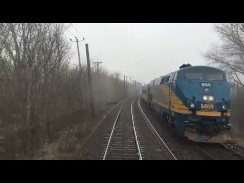 Dorval - Montreal Central Station (Complete Train Trip)