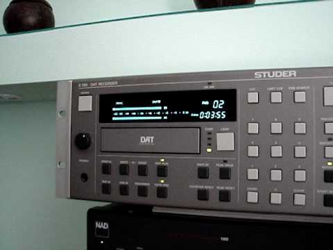 Studer D 780 DAT Recorder