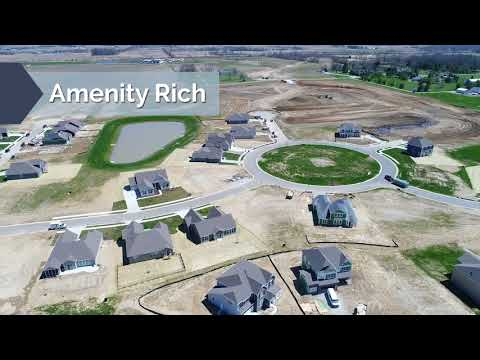 Glenmore at Saddle Club Aerial Tour | New Homes in Bargersville, Indiana