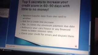 5 Secret Ways To Boost Credit Score In 30 Days Fix Your Credit Score