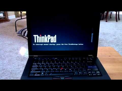 Thinkpad T420s Boot Sequence