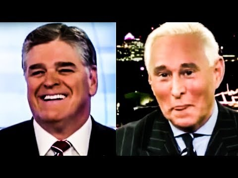 Sean Hannity and Roger Stone Have SUPER Awkward Exchange On Fox News