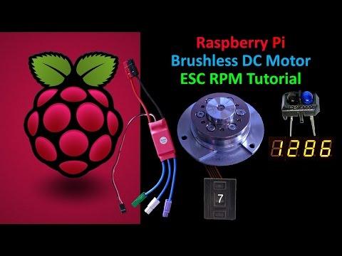 Raspberry Pi Motor Control & RPM Measurement Tutorial