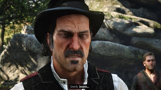 Red Dead Redemption 2 - Arthur Insists John Marston & His Family Leave The Gang, Dutch Gets Angry