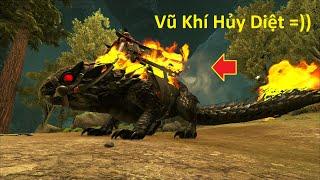"""ARK: Extinction Mod #60 - Vũ Khí Hủy Diệt Hàng Loạt """"Demonic Thorny Dragon"""" Đã Bị Bắt 🤩"""