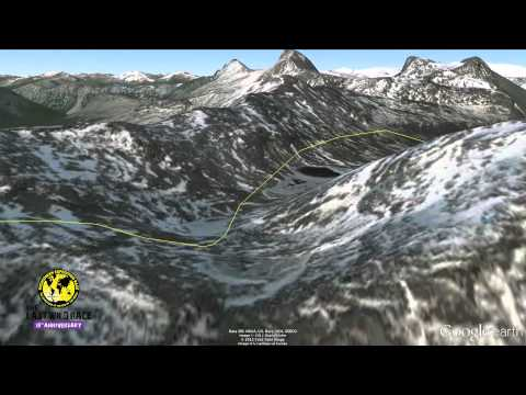 Patagonian Expedition Race 2012 - Google Earth Fly - Through