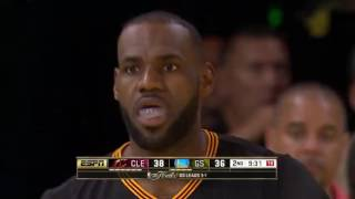 Kyrie Irving & LeBron James bullying Stephen Curry in NBA Finals (2016) *Trash Talking