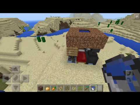 Minecraft pe: how to build a tiny house