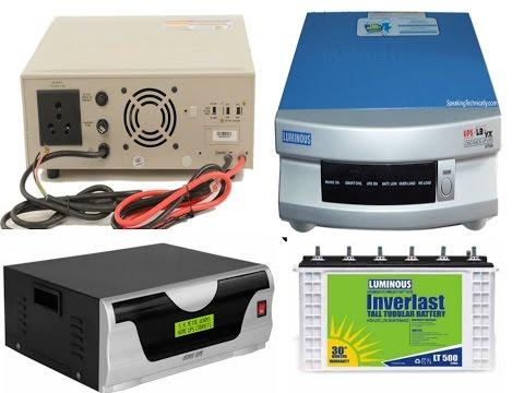UPS or INVERTER WIRING CONNECTION IN HINDI (Hindi/Urdu)- YouTube SEO Electro Technic