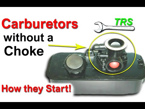 How a Carburetor Cold Starts without a Choke/Four (4) Stroke Cycle carburettor