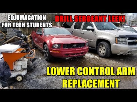 How to Replace Lower Control Arms 2005-2009 Ford Mustang