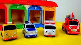 ¡NEW! Dibujos animados de COCHES. VEHíCULOS DE SERVICIO. Episodio 1. Helper cars