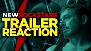 Download Avengers ENDGAME Trailer Reaction #newrockstarsnews Video