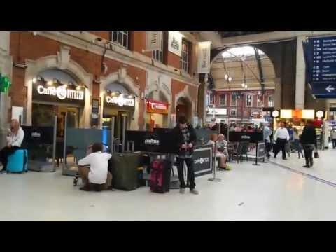 Victoria Station, London.