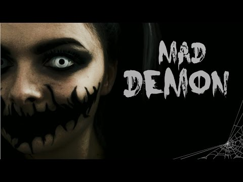 Mad Demon | Last Minute Halloween Costume